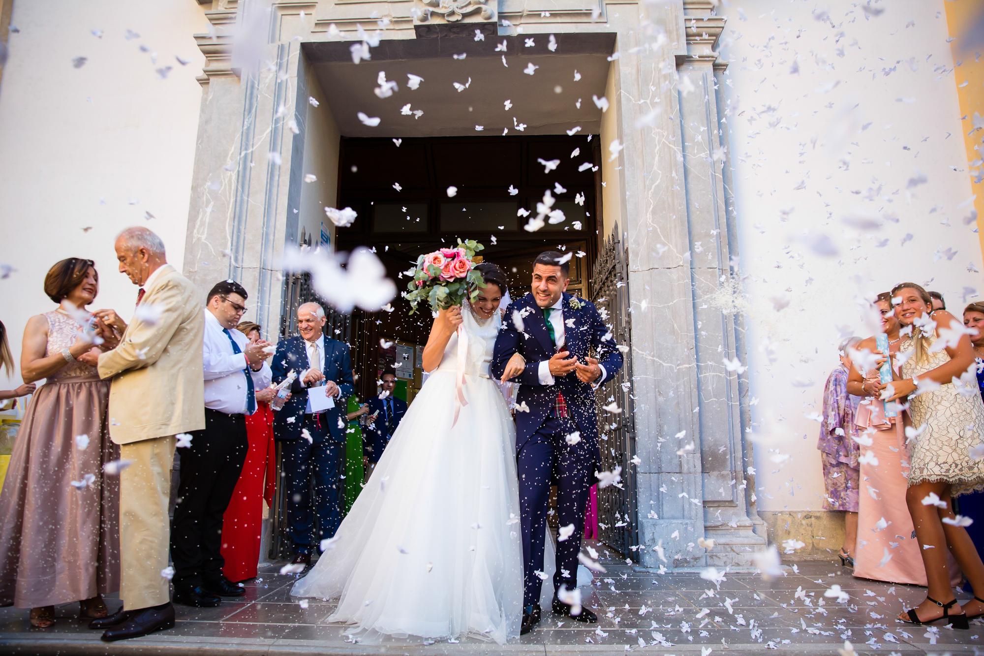 Boda en Torre del Rey – Granada. Victoria&David
