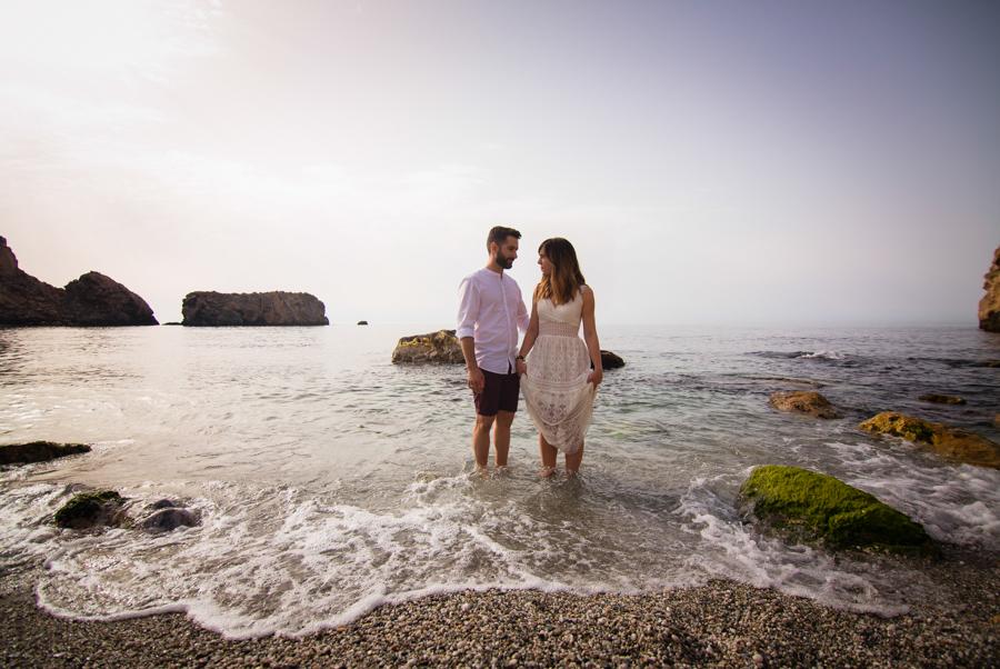Preboda Playa: Almudena&Juan