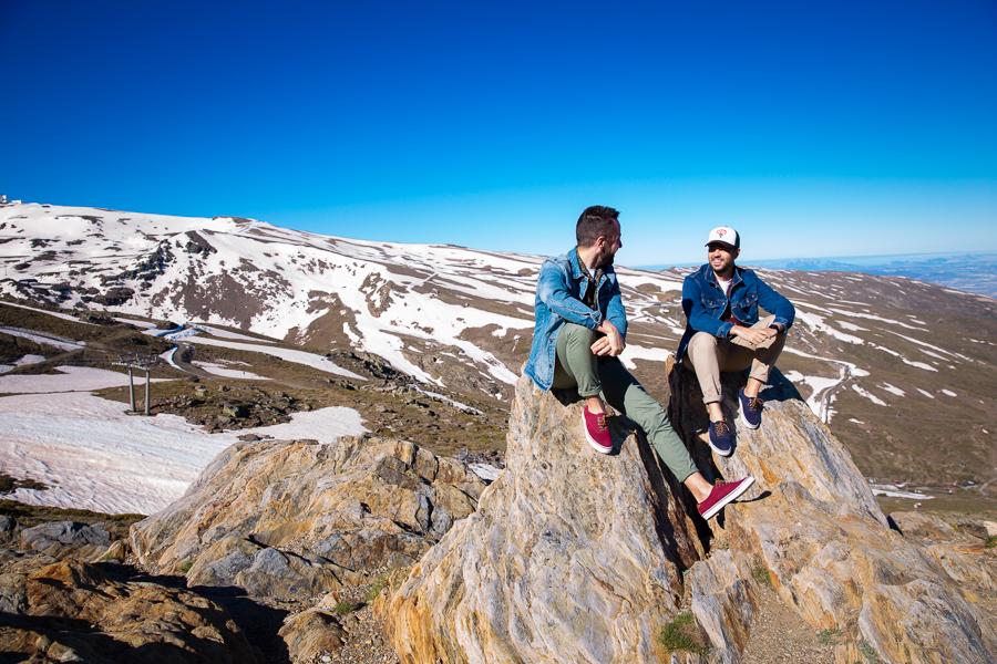 Preboda Sierra Nevada: Fran&Jose
