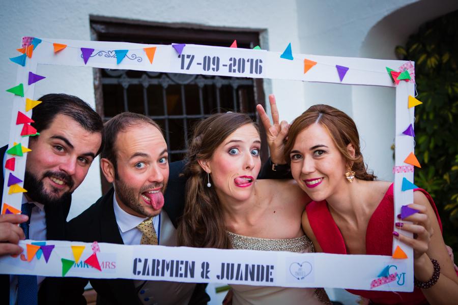 Boda en Jaén: Carmen y Juande