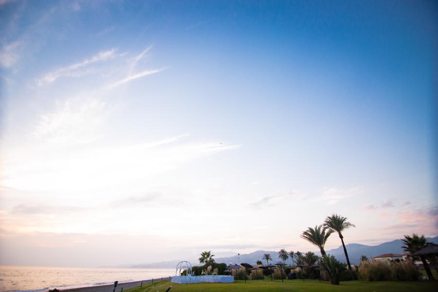 Boda en la playa. Granada