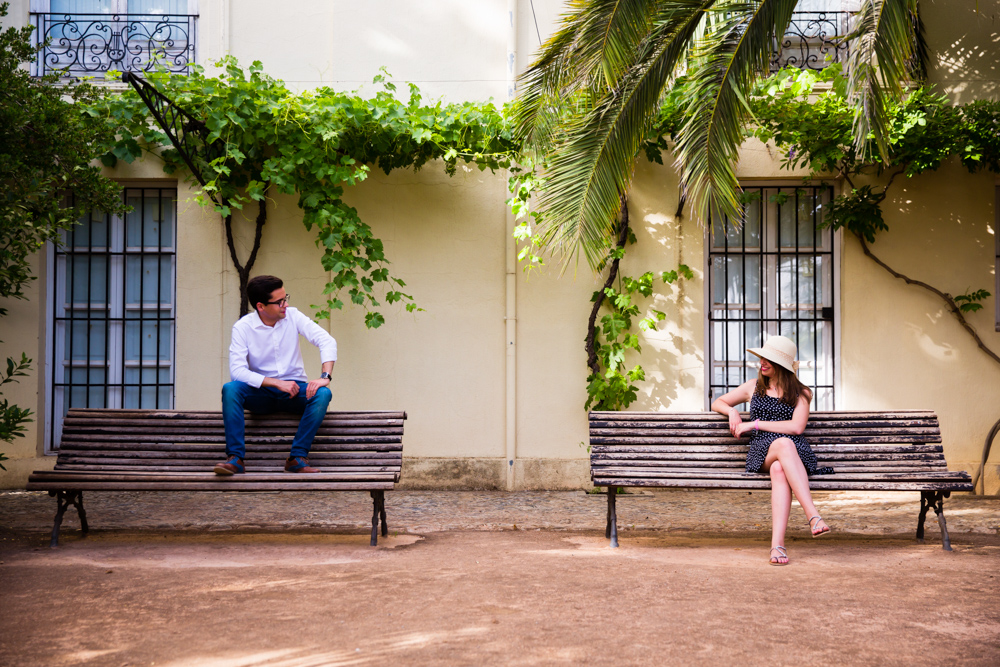 Dónde hacer preboda en Granada. Carmen de los Mártires
