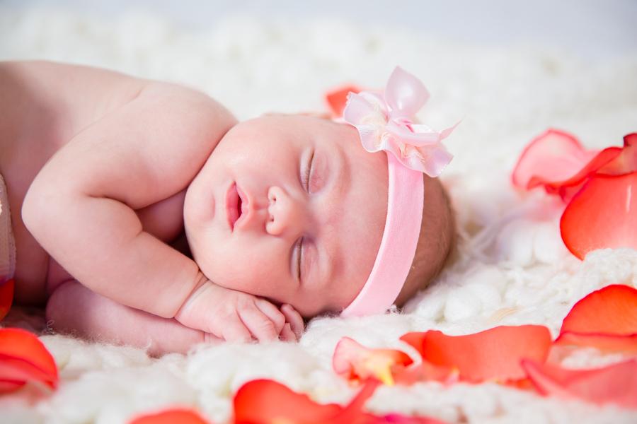 Fotografía newborn. Sesión Infantil Alba.