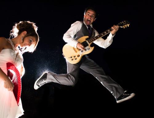 Postboda en Málaga. Rock y Flamenco. Irene&Jose