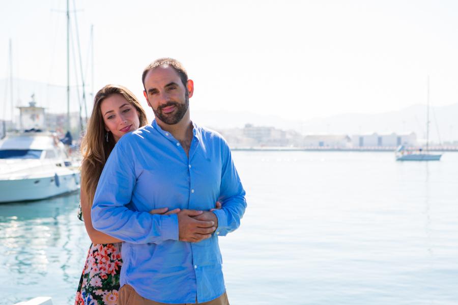 Preboda en la playa: María y Jose